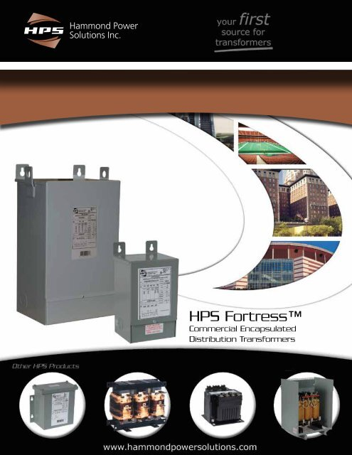 HPS Fortress Brochure - Hammond Power Solutions