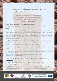 armenia metamorfosi fra memoria e identita programma  2015