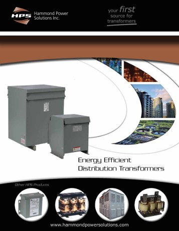 Energy Efficient Distribution Transformers - Hammond Power ...