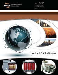 HPS Global Solutions HPS Global Solutions document is about the ...