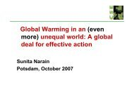 presentation Narain - Nobel Cause Symposium