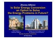 Zhores Alferov - Nobel Cause Symposium