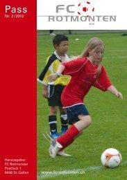 Mehr Sport. - FC Rotmonten
