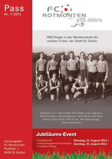 75 Jahre - FC Rotmonten