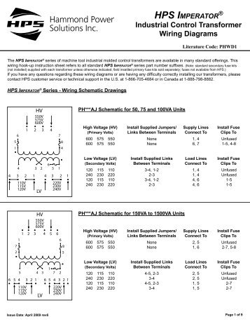 hps spartan wiring hammond power solutions?quality=85 hps sentinel features and benefits flyer hammond power hammond power solutions transformer wiring diagram at soozxer.org