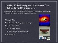 Detectors - Joint Instrumentation Seminar