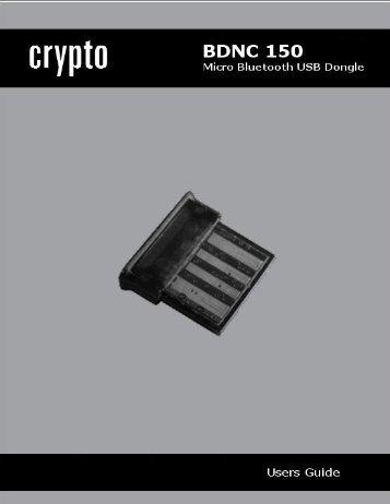 2 The BDNC 150 Mini Bluetooth USB Dongle
