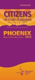 PDF version of the Program Book - Mennonite Convention 2013