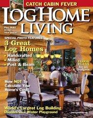 3 Great Log Homes - Pioneer Log Homes Midwest