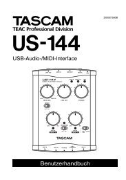 TASCAM US-144