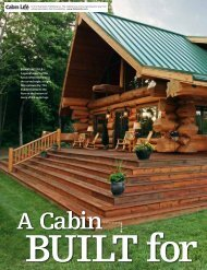 SIGNATURE STYLE - Pioneer Log Homes Midwest