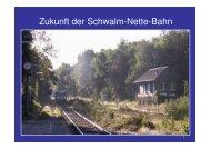 Zukunft der Schwalm-Nette-Bahn - VIEV