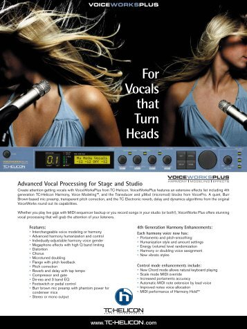 Advanced Vocal Processing for Stage and Studio - Full Compass