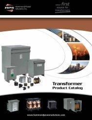 Full Catalog - Hammond Power Solutions