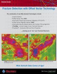 Offset Vector Tile (OVT) - Geotrace Technologies, Inc.