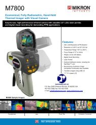 Economical, Fully Radiometric, Hand-Held Thermal Imager with ...