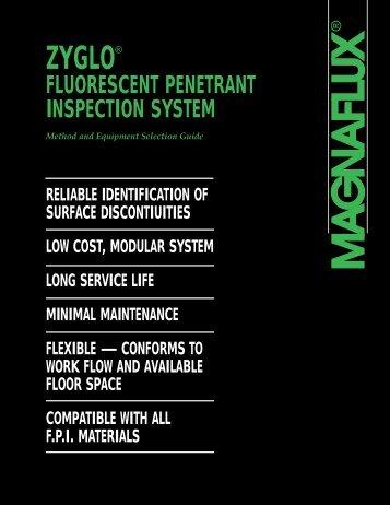 fluorescent penetrant inspection system
