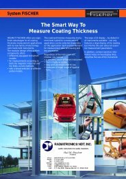 System Fischer The Smart Way To Measure Coating Thickness