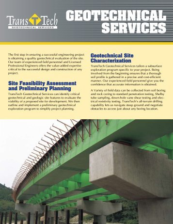 Brochure - TransTech Systems Inc.