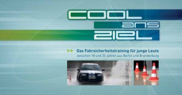 Cool ans Ziel-Flyer