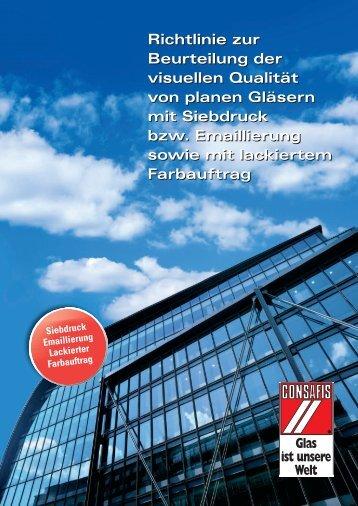Beurteilungsrichtlinie Qualität - Glastechnik Engels GmbH