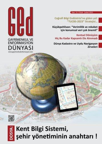 Kent Bilgi Sistemi, şehir yönetiminin anahtarı !