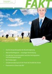 FAKT - Rundschreiben für Heilberufe - II/2009