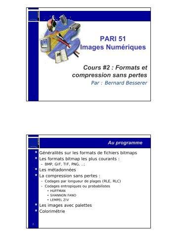 PARI 51 Images Numériques - Université de La Rochelle