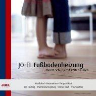 JO-EL Fußbodenheizung