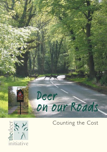 Deer on our Roads : counting the cost - deer collisions project