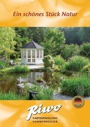 Rivo Gartenpavillons - Ein schönes Stück Natur