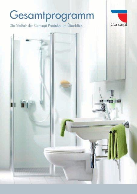 Ablaufgarnitur und Spiegel optional Toilettenb/ürste-Links Badm/öbel-Set Compact 400 f/ür G/äste-WC