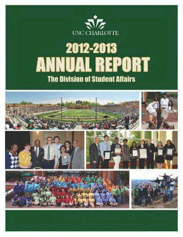Page 1 Student Affairs Annual Report 2012-ญ‐13 1 Page 2 2 Stu ...
