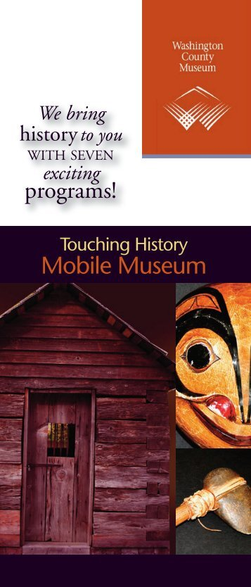 Download the Brochure - Washington County Museum