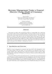 Revenue Management Under a General Discrete Choice Model of ...