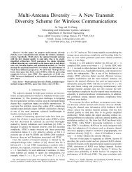 Multi-Antenna Diversity - Computer Engineering & Systems Group ...