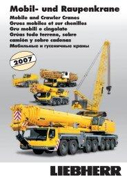 Grue mobile compacte · Autogru compatta · Grúa compacta