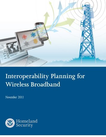 Interoperability Planning for Wireless Broadband - PSCR