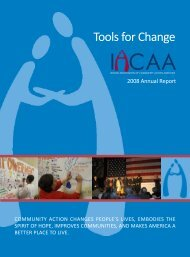 Tools for Change - Illinois Association of Community Action Agencies