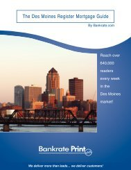 The Des Moines Register Mortgage Guide