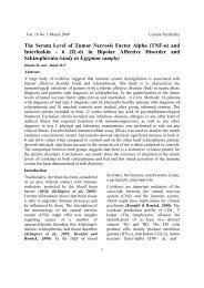 (TNF-α) and Interleukin - 6 (IL-6) in Bipolar Affective Disorder and ...