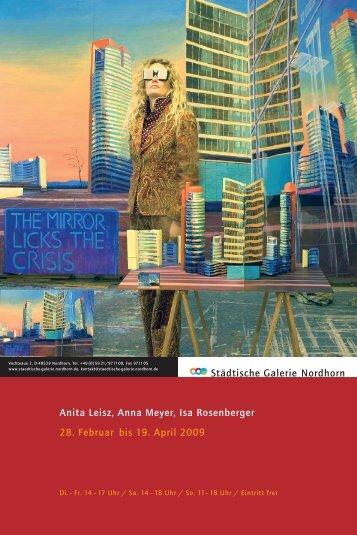 Städtische Galerie Nordhorn Anita Leisz, Anna Meyer, Isa ...