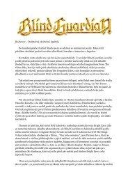 Blind Guardian: Dodatečná závěrečná kapitola - Milan Škoda