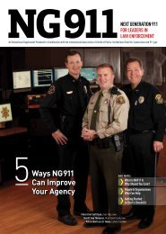 Ways NG911 Can Improve Your Agency - 911.gov