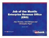 Job of the Month: Job of the Month: