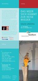 Einladung und Programm - Städtische Galerie Nordhorn