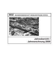 Jahresbericht / Jahresrechnung 2009 - BDZ