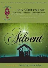 2. - Holy Spirit College
