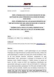 issn: 1989-6247 perfil epidemiológico dos idosos ... - trances
