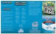 pro brochure - Memphis Public Tennis Centers